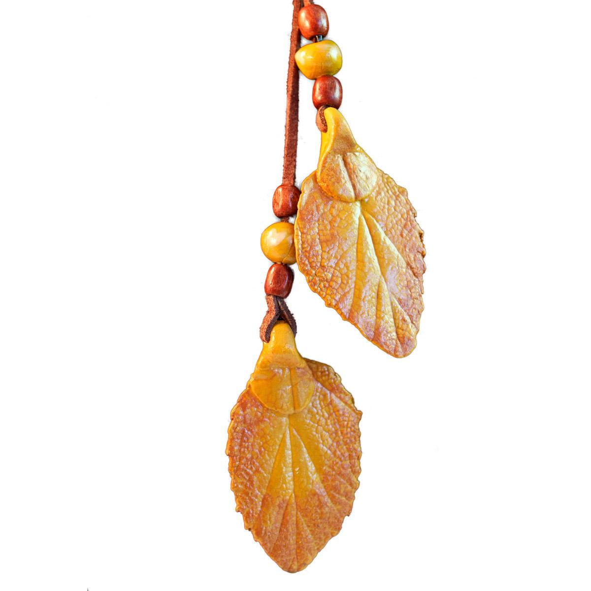 Collar hojas multiposicion detalle