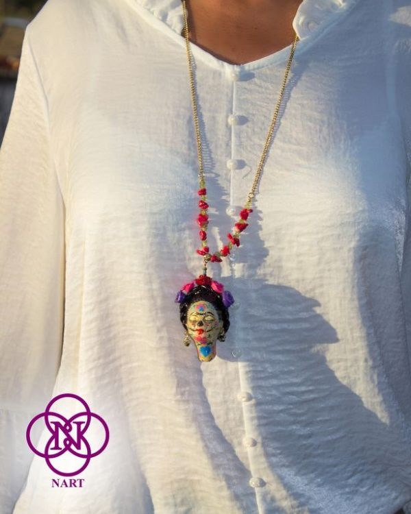 Collar Rostro Coleccion Mujeres del Mundo Catrina Frida7